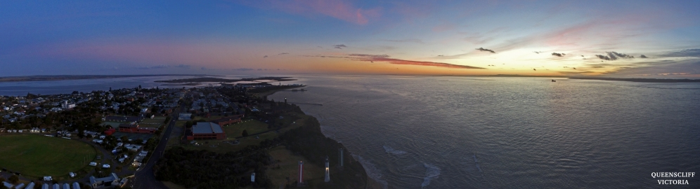 Sunrise over Queenscliff
